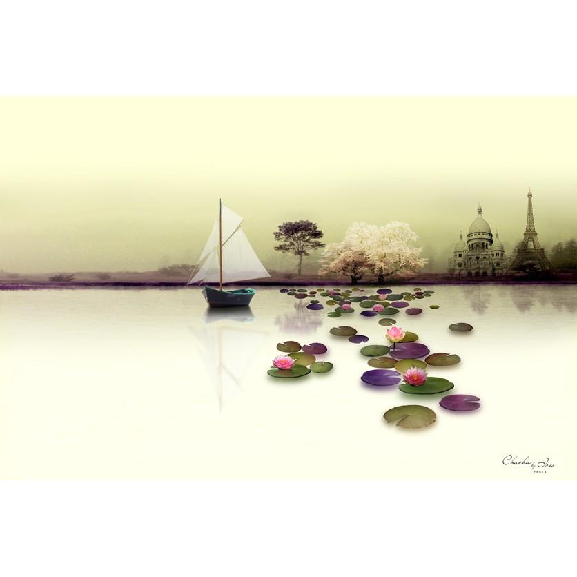 Tableau d 39 art contemporain barbade de chacha by iris for Tableau art contemporain design decoration