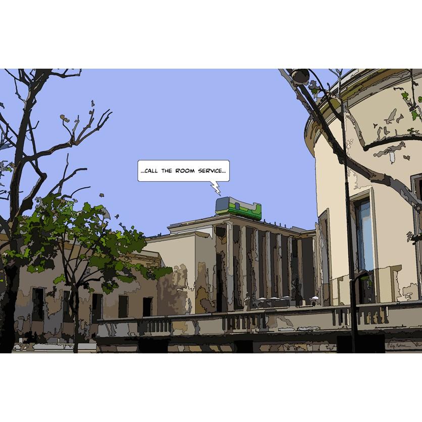 Tableau d\'art contemporain - CHAMBRE AVEC VUE - de Matine , pour une ...