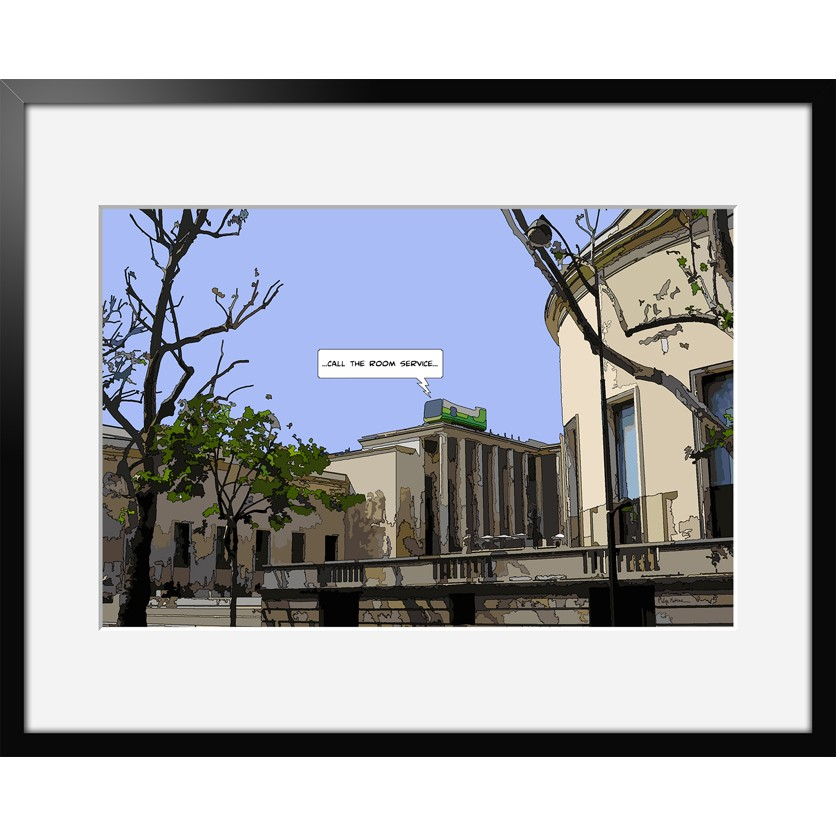 Tableau d 39 art contemporain chambre avec vue de matine for Chambre avec vue salvador