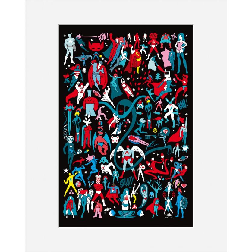 Tableau d art moderne art le tableau samo de kokian rend - Tableau d art moderne ...