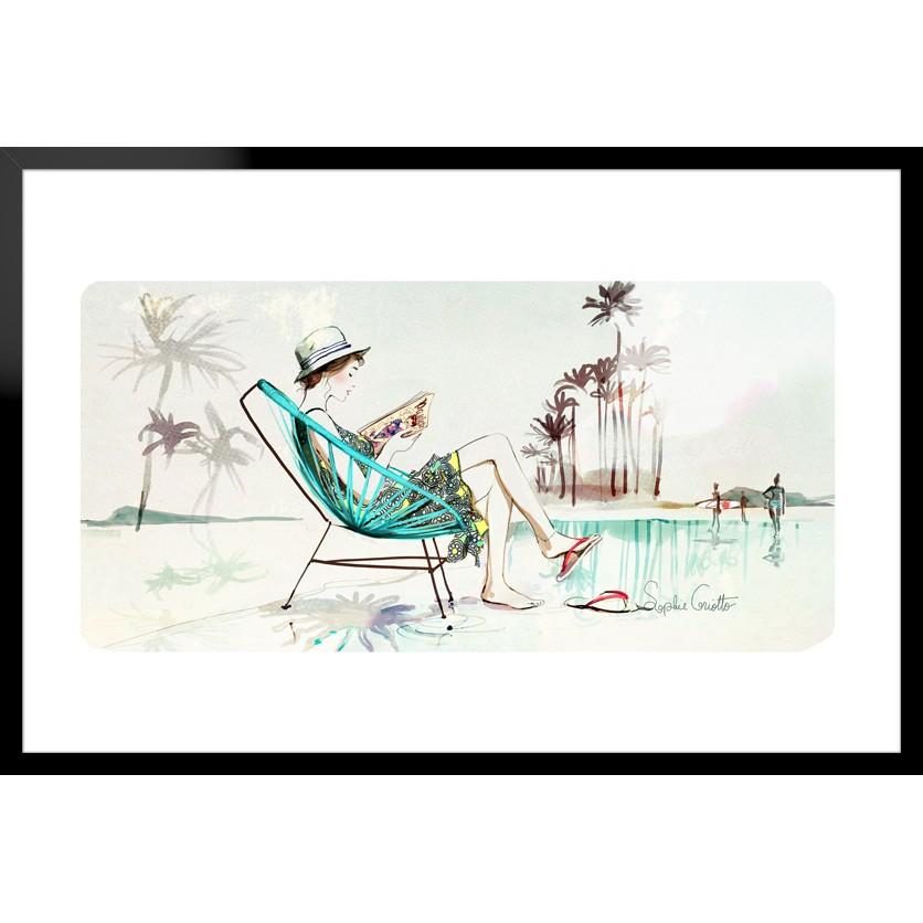 tableau d 39 art contemporain summer de griotto pour une d coration design. Black Bedroom Furniture Sets. Home Design Ideas
