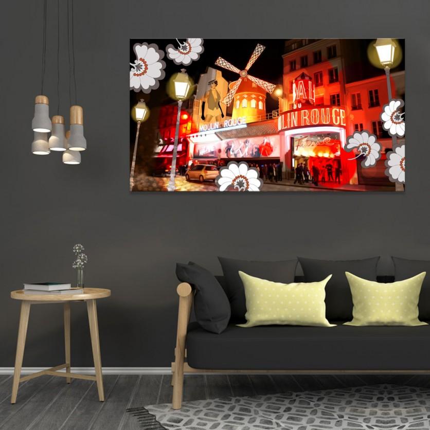 tableau d 39 art contemporain pigalle de plateau pour une d coration design. Black Bedroom Furniture Sets. Home Design Ideas