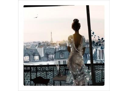 UN BALCON A PARIS